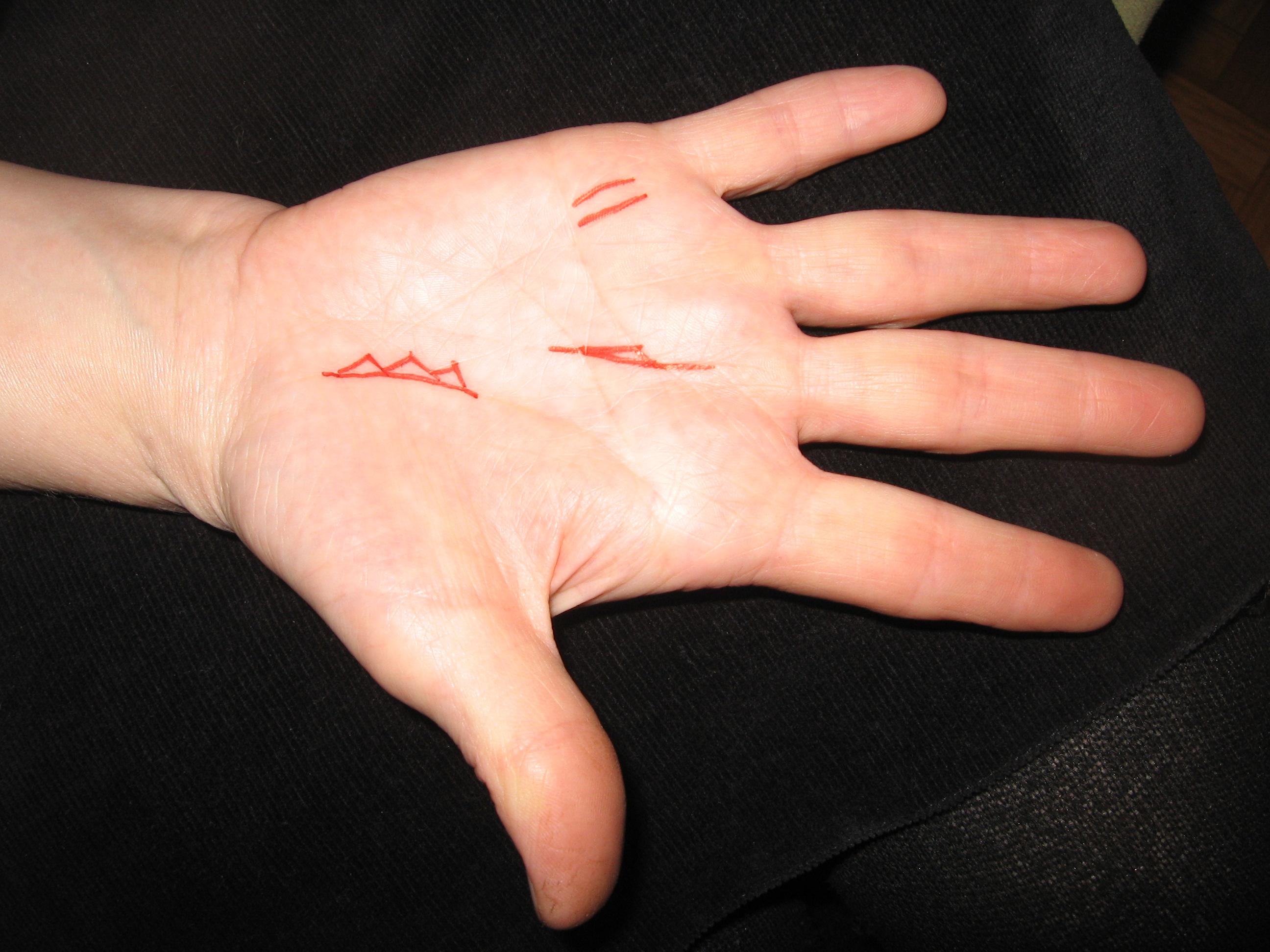 Знаки богатства на руке своими руками